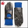 Women's driving gloves and skeleton skull half finger PUNK dance show leather driving gloves