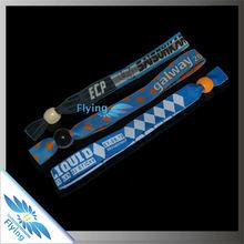 2015 good&cheap ribbon bracelet for club,vip,school,festival