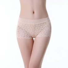 Hot sexy teens fancy special design nude softest women plus size boxers
