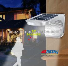 Fairy Door Small Garden Solar Light Tower With Motion Sensor