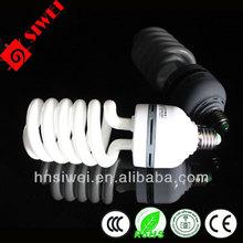 CFL 17mm 85/105W half super powr Spiral energy saving lamp Mixed / halogen powder bulb Screw / bayonet type bulb