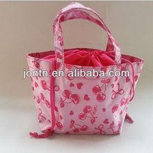 polyester cheap foldable reusable shopping bag