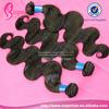 Human virgin body wave brazilian weave bundle,valencia rose hair
