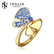 2014 wholesale half pave setting fake jewels R333