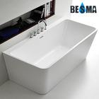 New Wall-against Freestanding Seamless Acrylic Bathtub 1700/1500mm B-7101