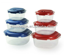 BPA FREE transparency microwave plastic food storage container