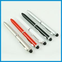 promotional fancy 3 in 1 stylus pen ( two ink refill with stylus pen )