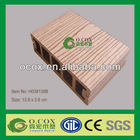Recyclable and Anti-UV WPC decking floor from China