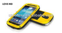 Love Mei 0.7 Metal Aluminum Bumper Case For Samsung Galaxy S4 Mini
