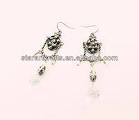 Large chandelier brass product bohemia style earrings long earrings EC140