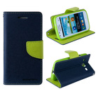 Mercury Dual Colors Flip PU Leather for Iphone 5S Case Phone Protector
