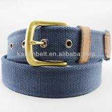 Classic men's canvas waist belt