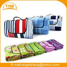 polyester polar fleece picnic rug