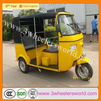 China passenger bajaj 3 wheeler cng/scooter taxi for sale