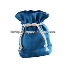 drawstring jute gifts bags