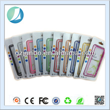 clear plastic bumper case for samsung galaxy note 3