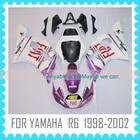 For YAMAHA R6 1998 1999 2000 2001 2002 Custom body work motorcycle Fairing kit