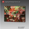 Modern soyut dekoratif yağlıboya, odası duvar sanatı resim resim, yüksek- kaliteli el- boyalı, mhf-131108326