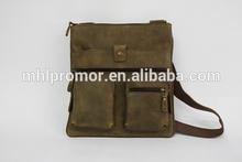 Specialized Mens Genuine Leather Shoulder Bag