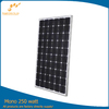 China OEM 250w solar panel from sungold manufacturers