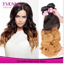Charming Body Wave Virgin Human Hair Ombre Hair Extension