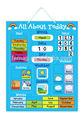 E1004 2014 sıcak yepyeni çocuklar bebek ve çocuk yaratıcı manyetik öğrenme eğitim takvim ve hava grafik