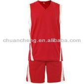 High Quality Team Sublimated Basketball top/Custom basketball uniforms