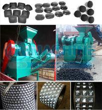 coconut shell charcoal/coal ball briquette press production line.manufactor