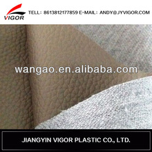 High quality abrasion resistence artificial pvc leather for car seat