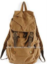plain canvas backpack canvas backpacks for men canvas bag/backpack/back bag