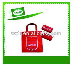 2014 hot new non woven foldable bag/foldable non woven bag/non woven folded bag