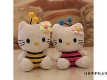18Cm Plush Hello Kitty, Hot Sale Christmas Gift Plush Toy