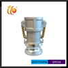 Aluminum Quick Connect Coupler cam and groove quick coupling