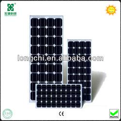 High Quality 100W Monocrystalline Solar Panel