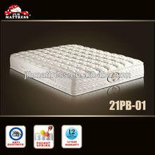 Good natural latex foam massage bed mattress from mattress manufacturer 21PB-01