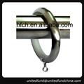 acessórios para cortina de ilhós de metal silencioso anéis de cortina