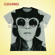 Brand fashion polyester t-shirt
