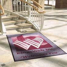 Fashion Door Mat, Nylon Rubber Door Mat, Floor Mat