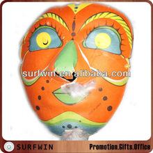 Cardboard halloween mask