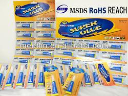 3g small tube packing super glue adhesive