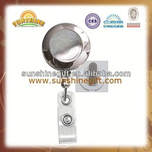 high precision cheap designer rotatable id yoyo badge reel for punch the clock from our factory