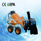 Mini Skid Steer Loader with Snow blower Made in China