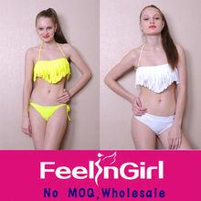 Wholesale Yellow Fringe www Sex Com Ladies Sexy Bikini