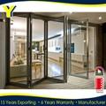 Dobrável de alumínio portas, alumínio bi- porta basculante bi- portas dobráveis cumprem com os padrões australianos as2047 as2208 as1288