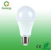 Greenergy China LED light factory A60 1000lm Plastic+aluminum 12W LED Bulb