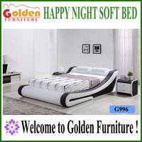 Foshan Golden kerala furniture wood furniture design in pakistan sex bed frame G996# on sale