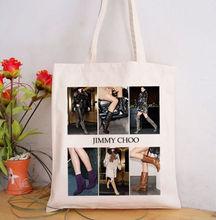 HOT sale pretty girl printed shopping bags