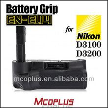 Mcoplus Multifunction Battery Pack Holder for Nikon D3200 D3100 Battery Grip Digital Camera