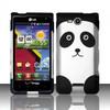 Custom Printed Panda Phone Case for LG VS840