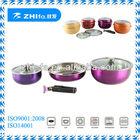 6pcs stainless steel cooking pot set/wedding giveaways